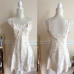 Victoria's Secret Vintage Cream Lace Nightgown